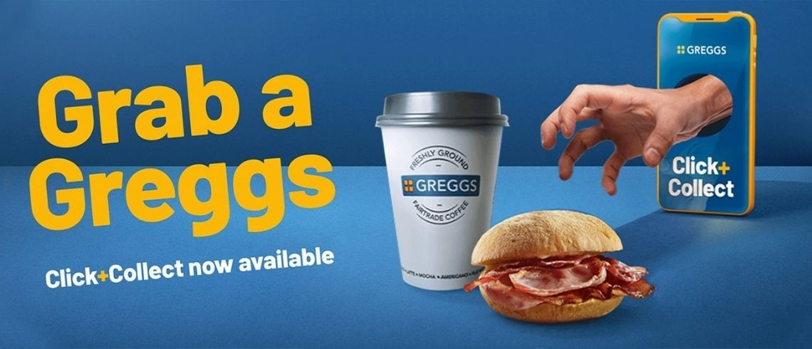 Click & Collect at Greggs