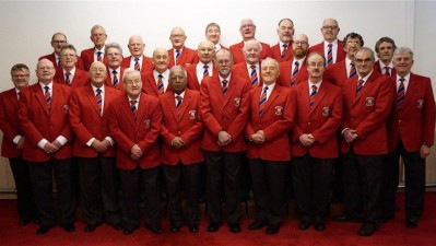 Worrell Male voice choir perform at Fox Valley