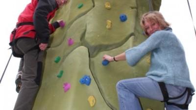 Climbing activity at Fox Valley