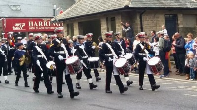 Barnsley Sea Cadets Band - perform in Fox Valley