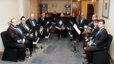 South Yorkshire Police Band performing at Fox Valley
