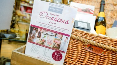 Special Occasions Fayre at Sandersons