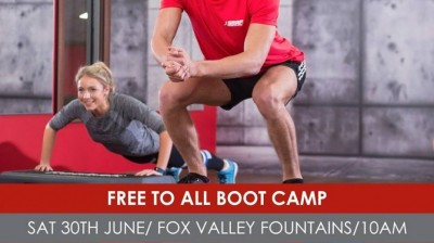 Free Outdoor Bootcamp with Snap Fitness!