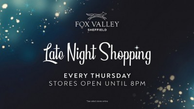 Late night Shopping at Fox Valley