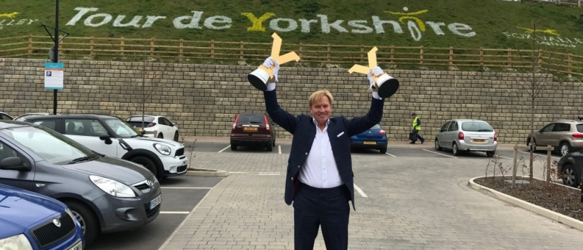 North Sheffield prepares to celebrate Tour de Yorkshire's Fox Valley finish
