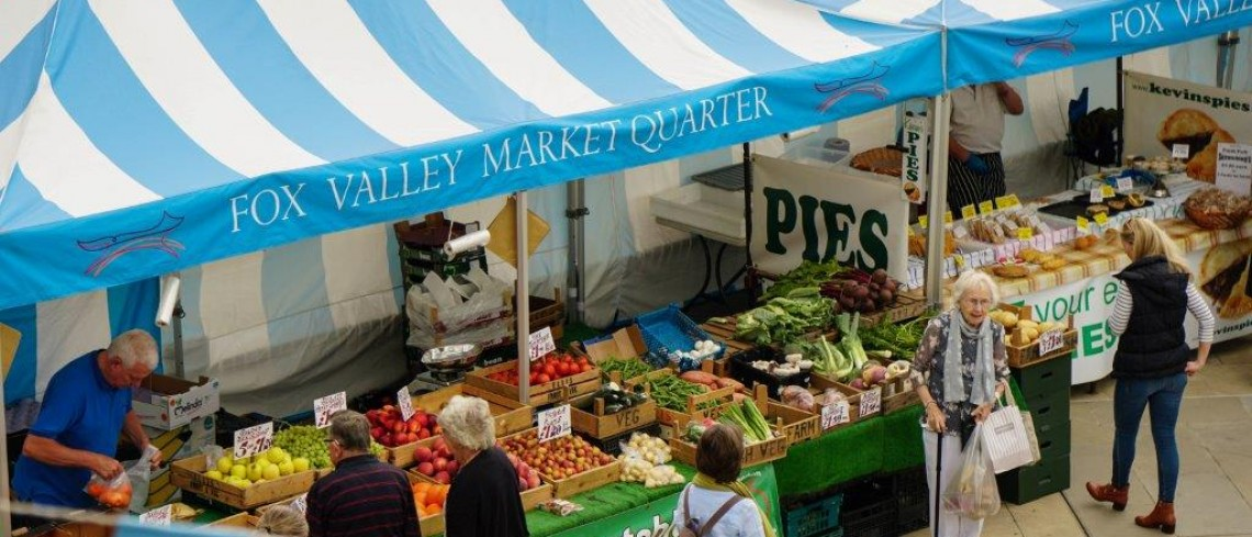 Yorkshire themed Farmers' Market takes place this weekend