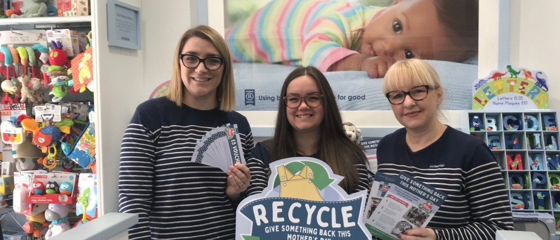 JoJo Maman Bébé launches recycling initiative From A Mother To Another for their sixth year running