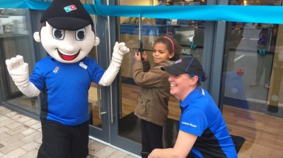 Crowds welcome brand new Dominos store to Fox Valley