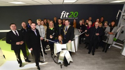 Gold medallist launches UK headquarters of new fitness concept