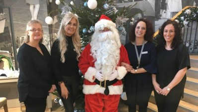 Sandersons Santa's grotto raises £700 for local charity