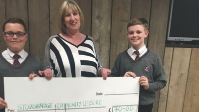 Pupils' BIG challenge gives boost to local charities