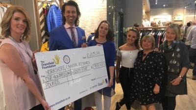 Sandersons team take to the cat walk and raise hundreds for charity