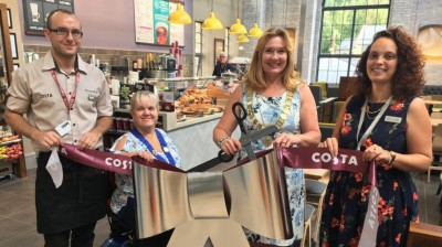 New Costa Coffee shop opens at Fox Valley Department Store