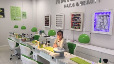 Kim nails new business venture at north Sheffield shopping destination
